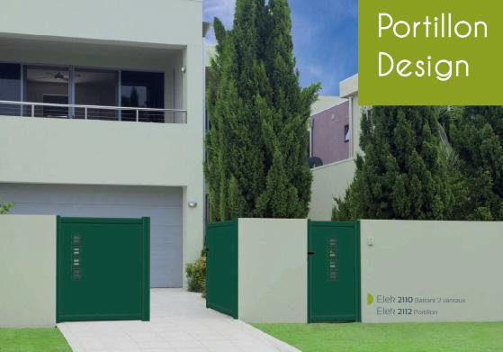 Portail Portillon Design